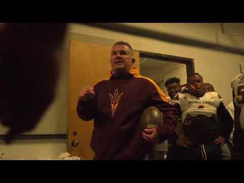 Locker Room Celebration | Football at Oregon State