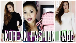 KOREAN CLOTHING AND ACCESSORY HAUL! Pt. 3 of My Haul From Seoul, Korea