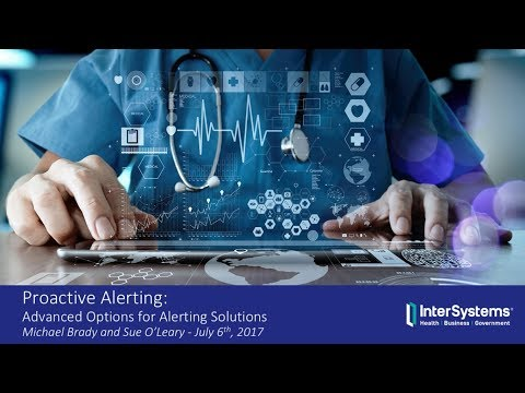 Proactive Alerting: Advanced Approaches for Alerting Solutions