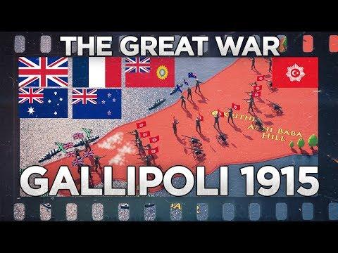 Gallipoli 1915 - The Great War DOCUMENTARY