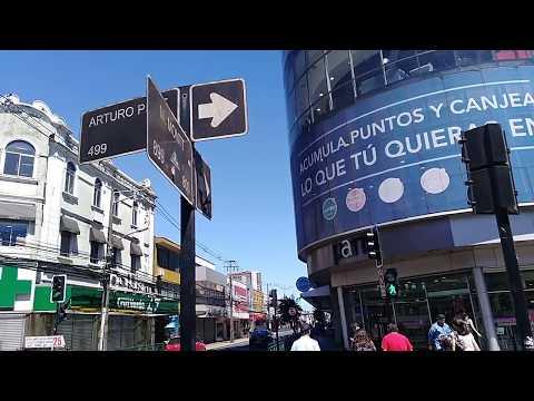 domingo por en centro de Temuco/Chile