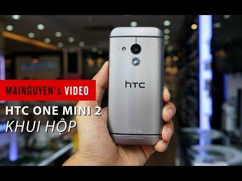 Khui hộp HTC One Mini 2 chính hãng - www.mainguyen.vn