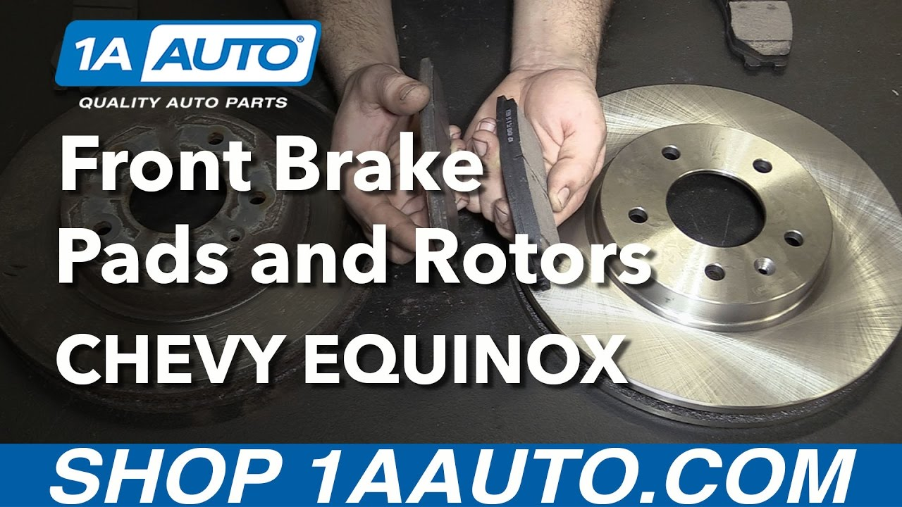 How To Install Replace Front Brake Pads And Rotors 2007 09 Chevy Caption Diagram Of The Basic Disc Setup Arotor B Equinox