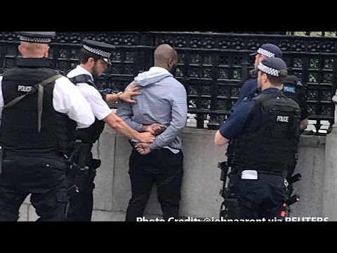 British police detain man at London's Palace of Westminster