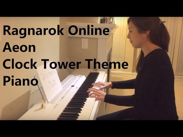 Ragnarok Online OST - Clock Tower Theme (Piano)