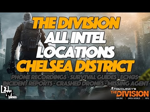 The Division All Intel and Collectibles Locations | Chelsea District