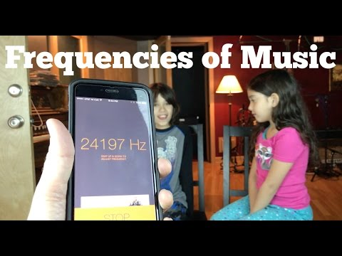 Frequencies of Music - Exploring the Range of Human Hearing and Music