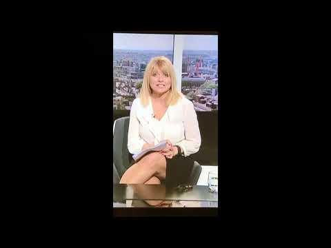 Christine Talbot thighs legs cross sexy milf  itv calendar