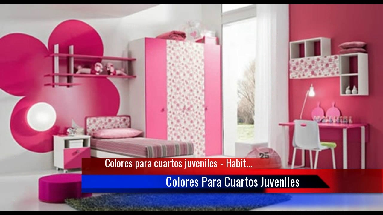 ♥Ideas para tu habitación: Colores para cuartos juveniles♥ - YouTube