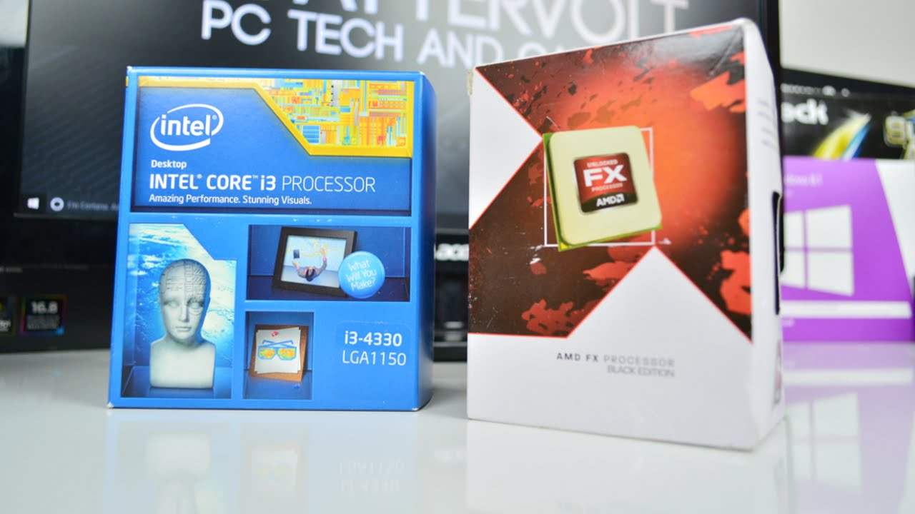 AMD VS INTEL - Who has the Best Value Gaming CPUs? (2016)