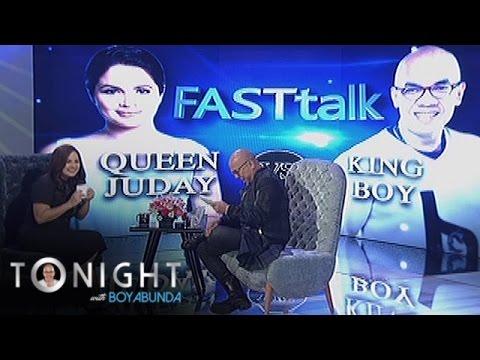 TWBA: Fast Talk with Judy Ann Santos-Agoncillo