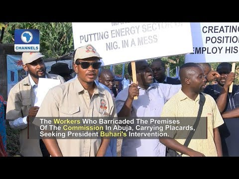 Protesting Workers Shut Down Energy Commission Of Nigeria