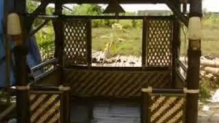 Kreasi Saung Bambu Bandung (wa 081394444440)