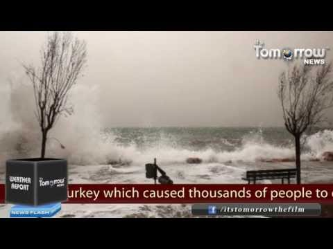 Floods in Albania and Greece