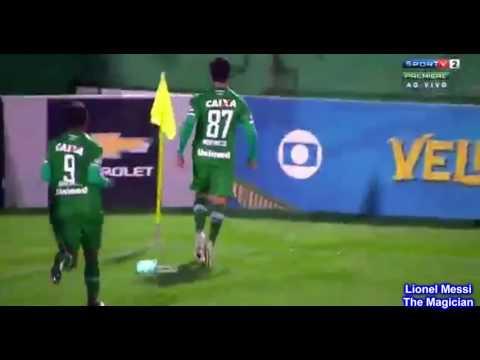 Chapecoense 1 x 0 Internacional, GOLS Brasileirão 15/08/2016