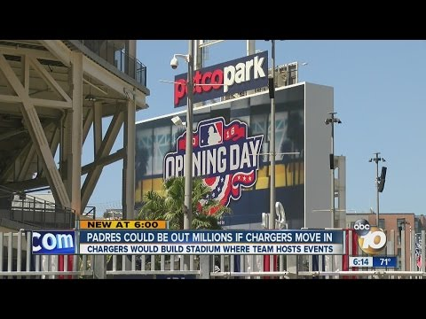 Padres could be out millions if Chargers move in