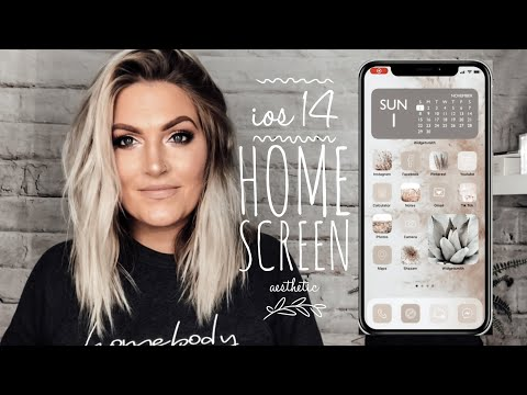 How To Customize Your IPhone Home Screen Aesthetic | IOS 14