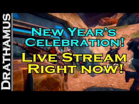 [ENDED] New Year's Live Stream Happened @ twitch.tv/drathamus