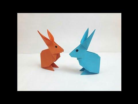 Kağıttan Tavşan Yapımı
