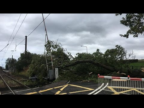 Two dead in Ireland as Storm Ali batters British Isles