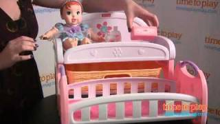 Fisher-price Little Mommy Sleepytime Bedroom From Tollytots