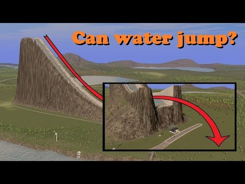 Can water jump?! [Challenge]