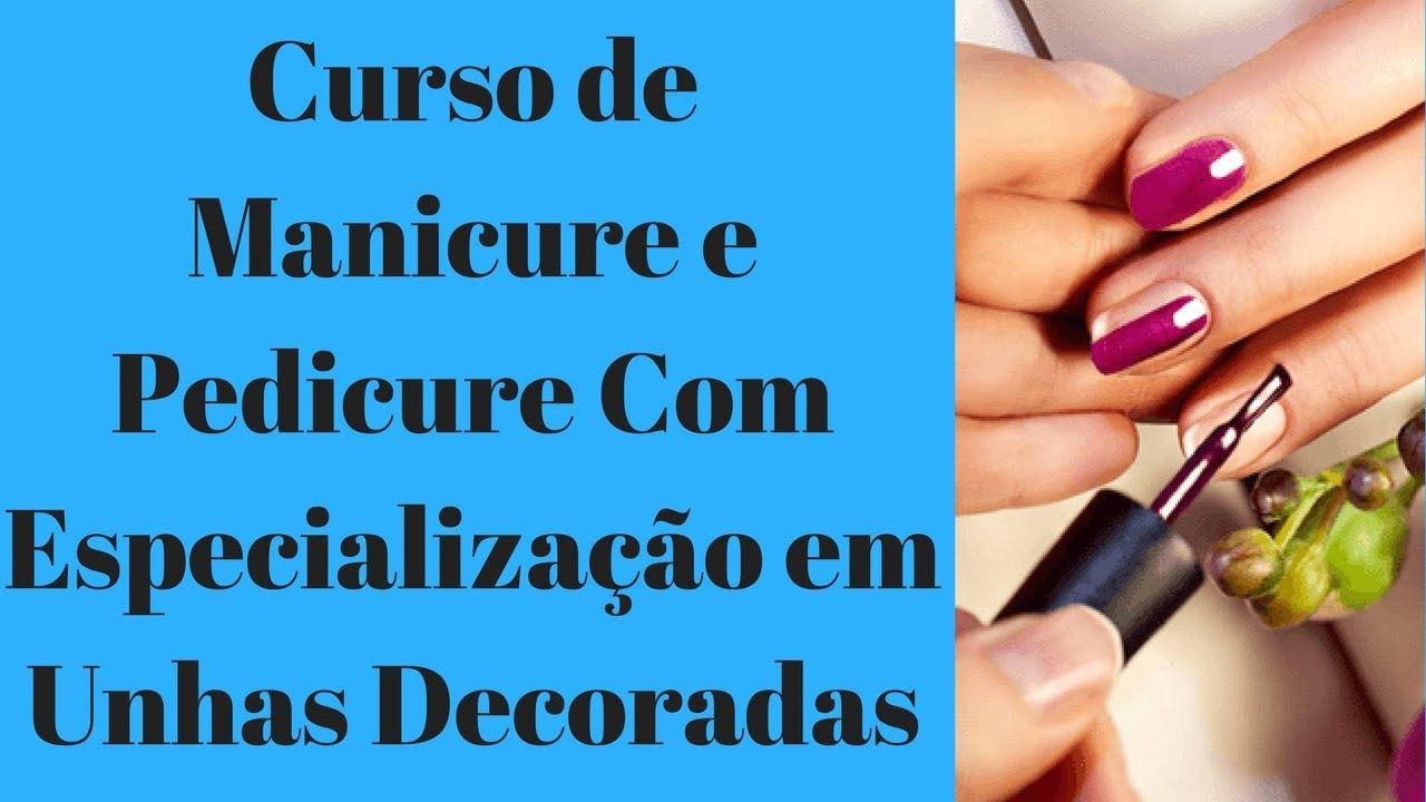CURSO DE MANICURE EM SANTO ANDRÉ UNHAS DECORADAS
