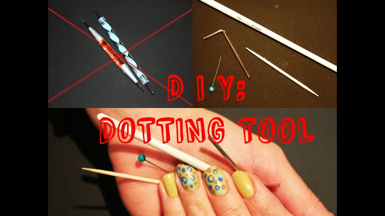 Diy Dotting Tool Easy Nail Design With Dots