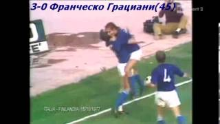 QWC 1978 Italy vs. Finland 6-1 (15.10.1977)