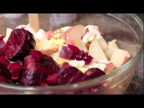 Planet Of Food Episode 16 Beet Potato Salad