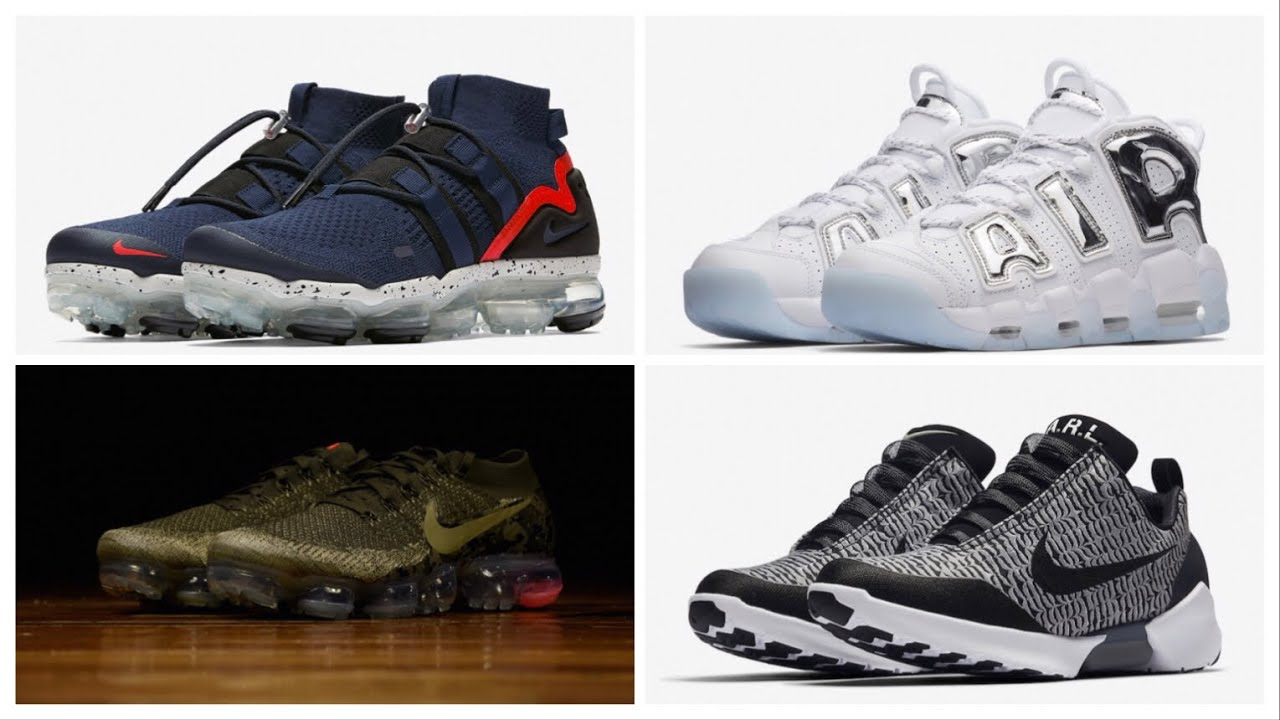 NIKE AIR VAPORMAX OLIVE CAMO, NIKE HYPERADAPT 1.0 WOLF GREY AND MORE !