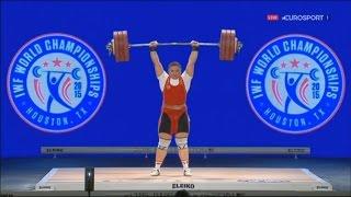 2015 World Weightlifting Championships. women +75kg \ Чемпионат мира женщины свыше 75кг