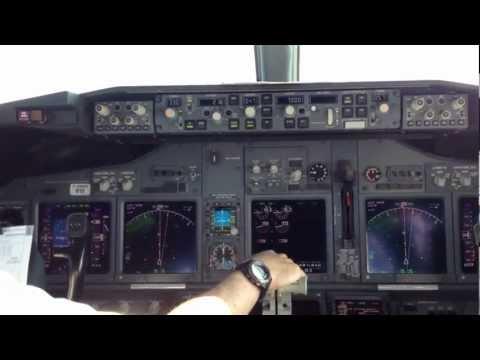 WestJet 737-800 Departing Toronto (jump seat)