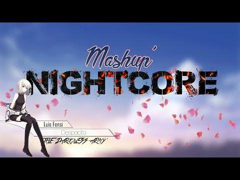 ~Nightcore~  Despacito X Faded (Mashup)