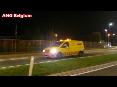 HEAVY TRANSPORT IN BELGIUM Zwaar vervoer in Peer om 00: 05 uur op 13 Juli 2017