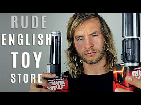 ASMR - Rude English Gentleman's Toy Store