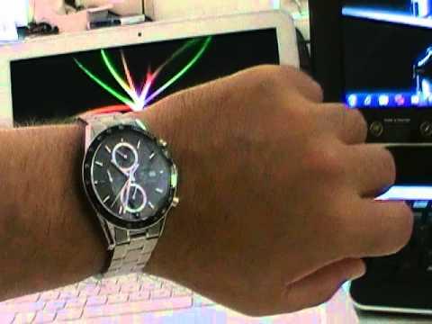 tag heuer carrera cv2010 tachymetre chronograph youtube