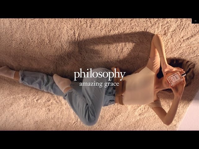 Campaigns & Endorsements: Philosophy's Amazing Grace Perfume | 2019