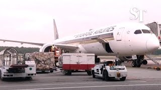 Singapore Airlines prepares for mass shipments of Covid-19 vaccines