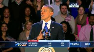 President Obama 2012 Victory Speech (C-SPAN)