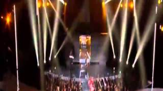 Diddy and Bad Boy performance at the 2015 BET Awards (Diddy falls)