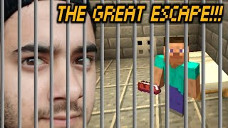 THE GREAT ESCAPE in MINECRAFT 🔥🔥🔥