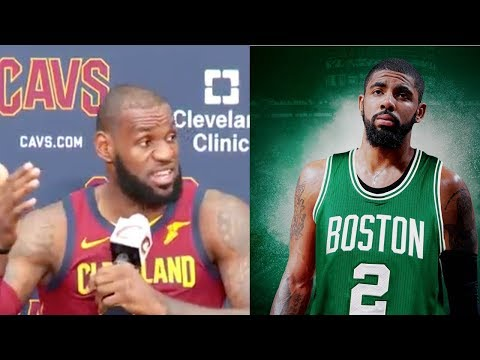 """LeBron James Feels Bad About Kyrie Irving Trade: """"I Tried to Do Whatever I Could"""""""
