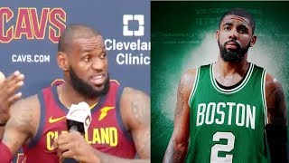 "Lebron james feels bad about kyrie irving trade: ""i tried to do whatever i could"""