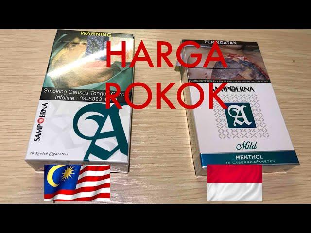 BELI ROKOK DI MALAYSIA BISA CICIL KPR DI INDONESIA