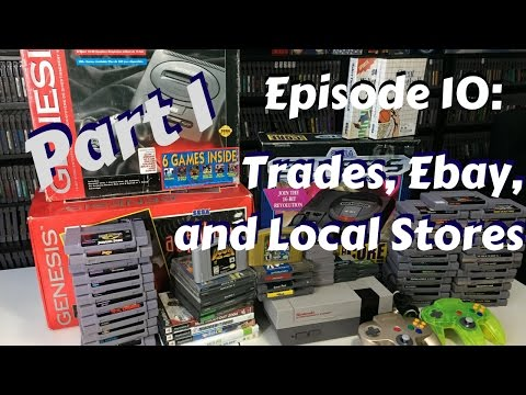 """Episode 10: (Part 1) """"Trades, Ebay Deals, and Local Stores!"""" (PICK UP VIDEO)"""