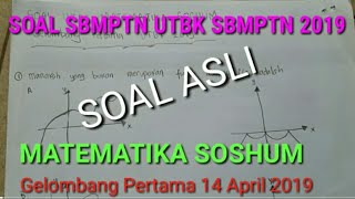 Soal Matematika Soshum UTBK 2019 Eps 2