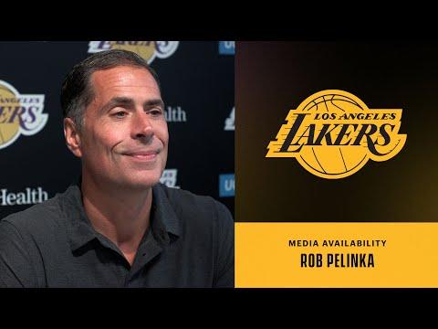 Rob Pelinka discusses the 2021-22 Lakers