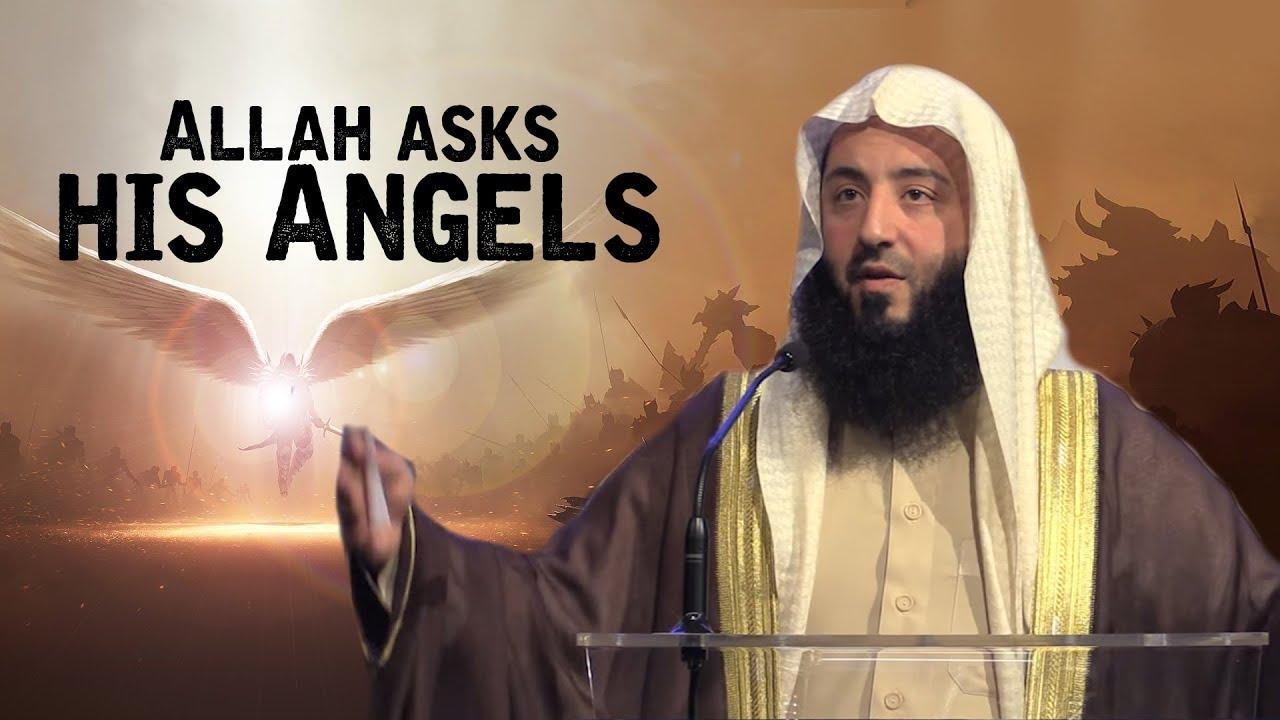 Download Allah asks his Angels | Emotional | Ustadh Wahaj Tarin