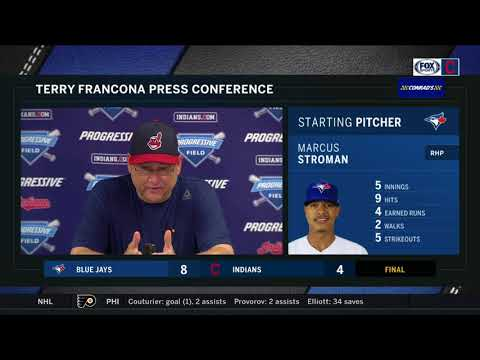 Terry Francona regrets keeping Clevinger out there too long | INDIANS-BLUE JAYS POSTGAME